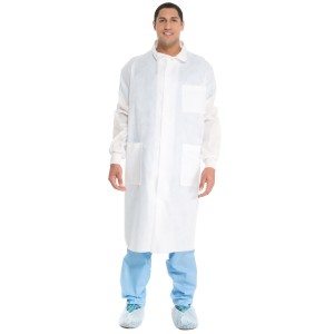 Universal Precautions Lab Coat