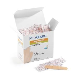 MEDICHOICE* Sheer Adhesive Bandage, Non-Adherent