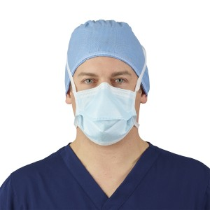 HALYARD* Level 1 Surgical Mask with Expanded Chamber