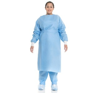 Procedure Gown with Knit Cuffs