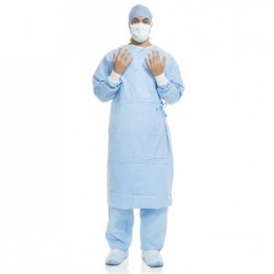 HALYARD* AERO BLUE* Performance Surgical Gown