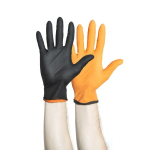 BLACK-FIRE* Nitrile Exam Gloves