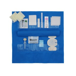 CLEAR SEQUENCE* Procedure Kits-10 Pocket with BIOPATCH and Protective Flap