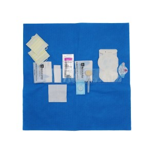 CLEAR SEQUENCE* Procedure Kits-5 Pocket with BIOPATCH and w/o Protective Flap