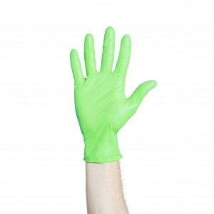 FLEXAPRENE* GREEN Exam Gloves