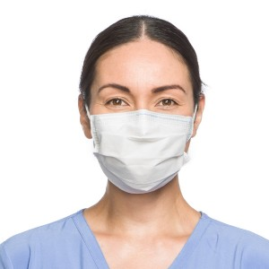 FLUIDSHIELD* Level 1 Fog-Free Procedure Mask with SO SOFT* Lining