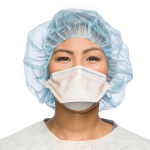 FLUIDSHIELD* Surgical N95 Respirator Mask