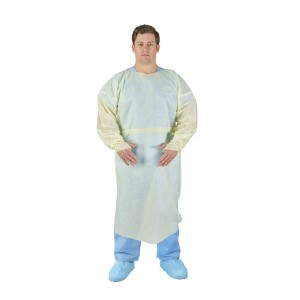 HALYARD* BASICS* Tri-Layer AAMI2 Over-the-Head Isolation Gown