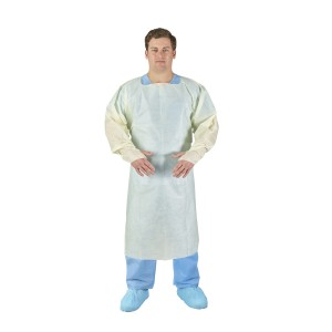 HALYARD* Medium Weight Tri-Layer Over-the-Head Isolation Gown