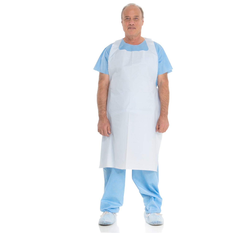 White apron for lab - General Purpose Apron