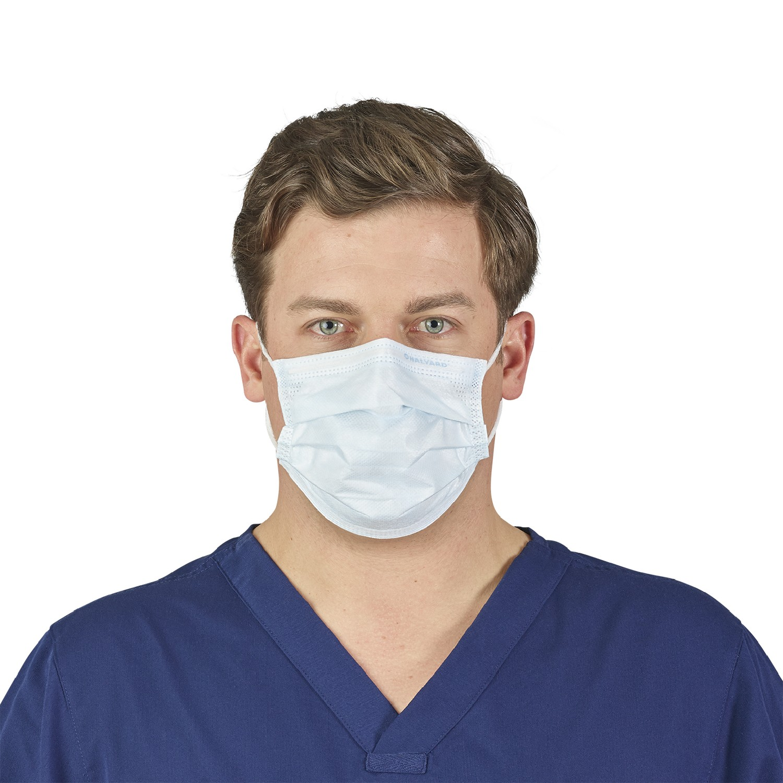 procedural surgical earloop mask blue